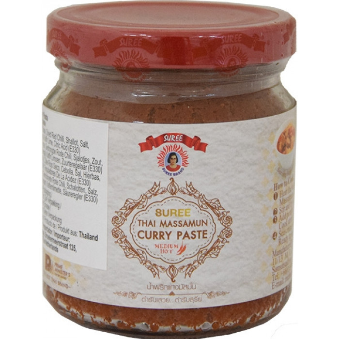 泰國咖喱 220gr / Suree Thai Massamun Curry Paste 220gr