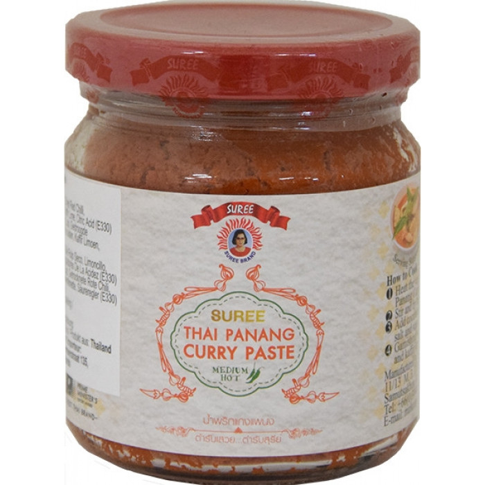 泰國咖喱 220gr / Suree Thai Panang Curry Paste 220gr