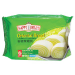 香兰叶馒头 300g / Spring Home / Happy Belly Oriental Bread Pandan 300g Mantau