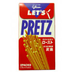 炭烧味百力滋 62g / Glico Pretz Roast Biscuit Sticks 62g