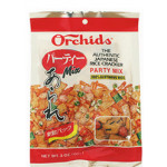 日式米薄脆饼干混合口味 85gr / Orchids Rice Crackers Party Mix 85g