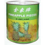 金象牌罐头菠萝块 3kg / Golden Elephant Pineapple Pieces in Light Syrup 3kg