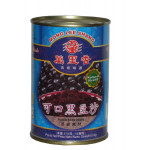 万里香 可口黑豆沙 510克 / Mong Lee Shang Sweetened Black Bean Paste 510g