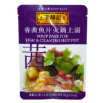 李錦記香茜魚片火鍋上湯 50g / Lee Kum Kee Fish&Cilantro Soup Base for Hot Pot 50g