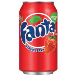 芬达草莓味饮品(泰国) 325ml / Fanta Strawberry Drink (Thailand) 325ml