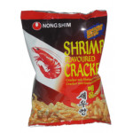 韩国辣虾条 75g / Nong Shim Shrimp Flavoured Cracker Hot & Spicy 75g