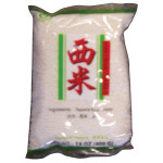 白色西米(小) 400g / Lotus Tapioca Pearl White Small 400 g
