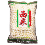 白色西米(大) 400g / Lotus Tapioca Pearl White Large 400 g