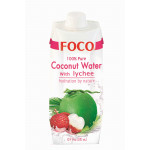 福口荔枝味椰子水 500ml / Foco Coconut Water With Lychee 500ml