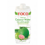 福口番石榴椰水 500ml / Foco Coconut Water With Pink Guava 500ml