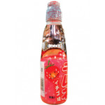 日式草莓味弹珠汽水 200ml / Hata kousen Ramune Soda Strawberry Carbonated Drink 200ml