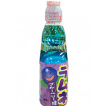 日式波子汽水 蓝莓口味 200ml/ Hata kousen Ramune Soda Blueberry Carbonated Drink 200ml