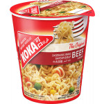 Koka Instant Cup Noodles Beef Flavour 70g
