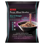 意式和风酱醋紫麦面 60克 / Koka Instant Purple Wheat Noodles Soy & Vinegar Flavour 60g
