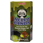 抹茶味熊仔饼 50g / Meiji Hello Panda Cocoa Biscuits with Matcha Green Tea Cream Filling 50g