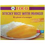速冻芒果糯米饭 250克 / Foco Sticky Rice With Mango 250g