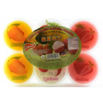欢乐牌杂果布丁 80gx6 / Happy Assorted Fruit Flavour Pudding 6x80g