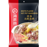 海底捞 清汤火锅底料 110克 / Lao Pai Hot pot Seasoning Clear Broth Flavour