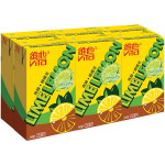 Vita Lime Lemon Tea Drink 6x250ml 维他青柠 柠檬茶 6x250毫升