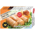 Golden Diamond Spring Rolls With Kimchi Big 10x50g 青岛韩式泡菜春卷