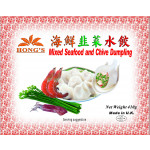 Hong's Mixed Seafood & Chive Dumplings 410g 速冻海鲜韭菜水饺