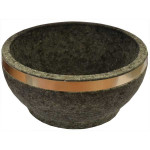 Korea Stone Bowl Dol Bibimki With Hoop D-160mm