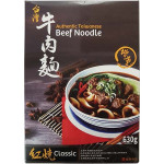 Han Dian Authentic Taiwanese Beef Noodle Classic 漢典急凍台灣牛肉麵 紅燒味 630g