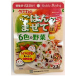 调味粉 33g / Tanaka Seasoning Powder Mazete Wakana and Six Vegetable 33g