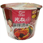 光友无明矾方便粉丝碗装-麻辣烫口味 105g / GUANG YOU Instant Vermicelli Hot & Spicy Flav. Bowl 105g