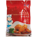 咖喱鱼丸(鱼蛋)200克 / PFP Frozen Fish Ball With Curry Sauce 200G
