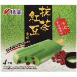 小美抹茶红豆雪糕 4x75g / Xiao Mei Matcha & Red Bean Ice Bar 4x75g