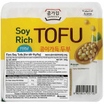 韩国宗家府 板豆腐300克 / Jongga Soyrich Tofu For Frying 300g