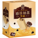 阿奇侬 珍珠奶茶味雪糕 4x85克 / A-Chino Boba Milk Tea Ice Cream Bar 4x85g