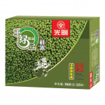 光明 绿豆冰棒(家庭装)10支 / Guang Ming Ice Lolly W. Mung Bean Flav. (XL Family Pack)
