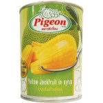 糖水菠萝蜜罐头 565g / Pigeon Yellow Jackfruit In Syrup 565g