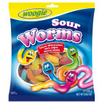 Woogie Sour Worms 250g