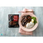 韩式黑椒炸酱面  / Jjajangmyeon: Rice Vermicelli With Korean Black Bean Sauce