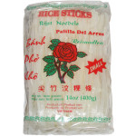 Rose Rice Sticks Small (Banh Pho Kho Thang) 3mm 400g 玫瑰牌3mm河粉(S)