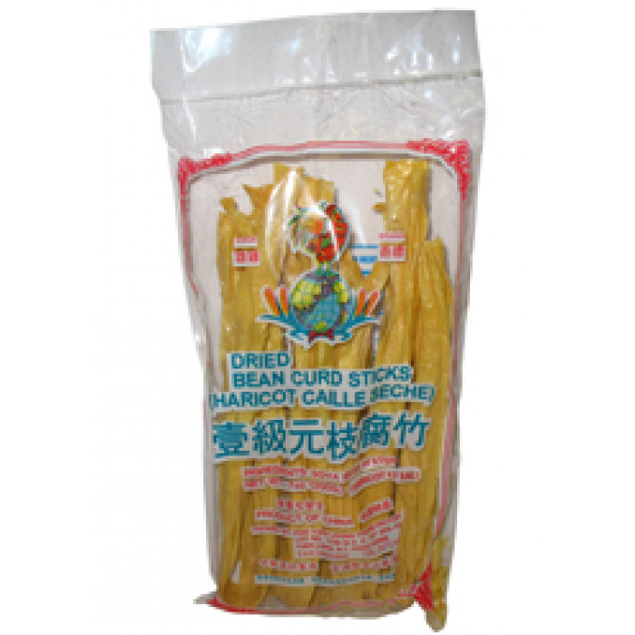 Cock Brand Dried Bean Curd Sticks 200 g 元枝腐竹