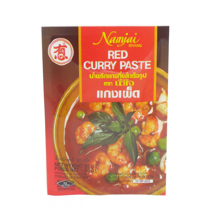 Namjai Curry Paste Red 50G