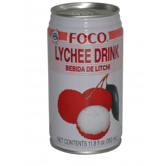 Foco Lychee Nectar 福口荔枝汁 350ml - Drinks | Amazing Oriental