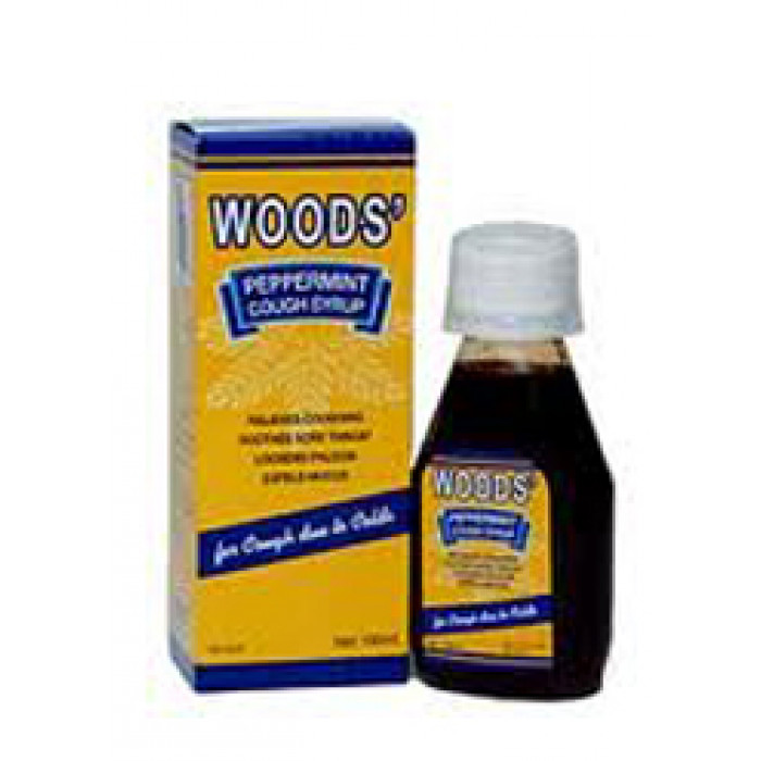 Woods Peppermint Cough Syrup 100ml