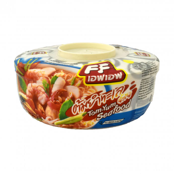 FF Instant Bowl Noedel (Tom Yum Seafood Flavour) 65g