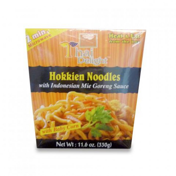 Thai Delight Hokkien Noodles with Indonesian Mie Goreng Sauce 330gr(印尼炒麵)