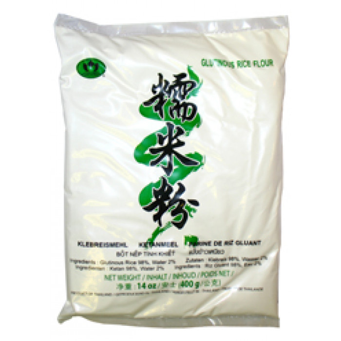 Lotus Glutinous Rice Flour 400g 蓮花牌糯米粉