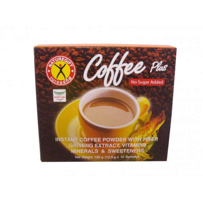 Nature Gift Instant Coffee With Fiber Ginseng 135g / 即冲人参咖啡 135克