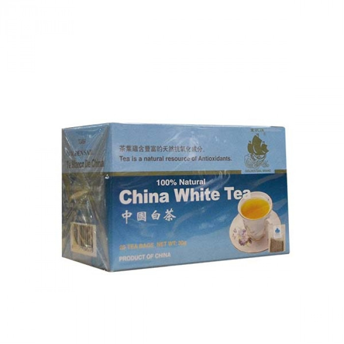 Golden Sail White Tea Bags 20x1.5g中国白茶包