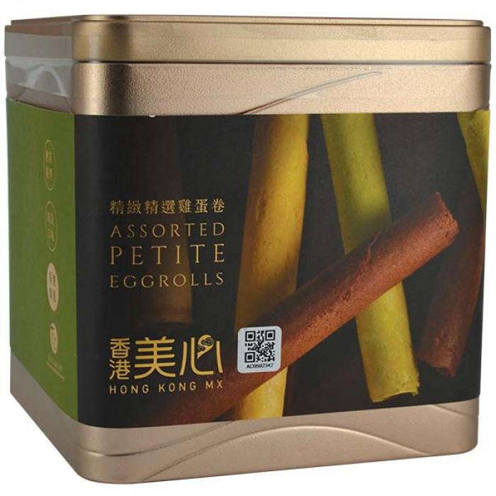 Hong Kong MX Petite Egg Rolls (Assorted) 208.8g / 香港美心精选鸡蛋卷