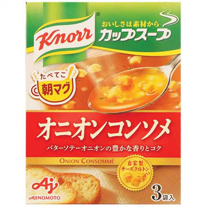 Knorr Instant Onion Soup 34.5g / 家乐牌 日式洋葱汤料 34.5克