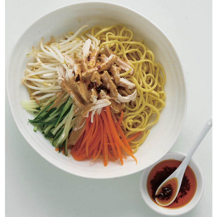 Noodle Salad with Roasted Chicken